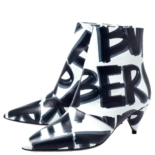 Burberry Leather Wilsbeck Ankle Black Boots Image 4