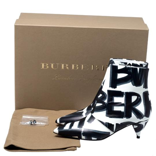 Burberry Leather Wilsbeck Ankle Black Boots Image 7