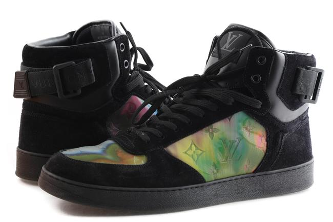 Item - Black Rivoli Iridescent Luxembourg Sneaker Boot Shoes