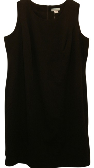 Preload https://img-static.tradesy.com/item/2636467/sag-harbor-black-the-nice-little-sleeveless-sheath-knee-length-workoffice-dress-size-20-plus-1x-0-2-650-650.jpg