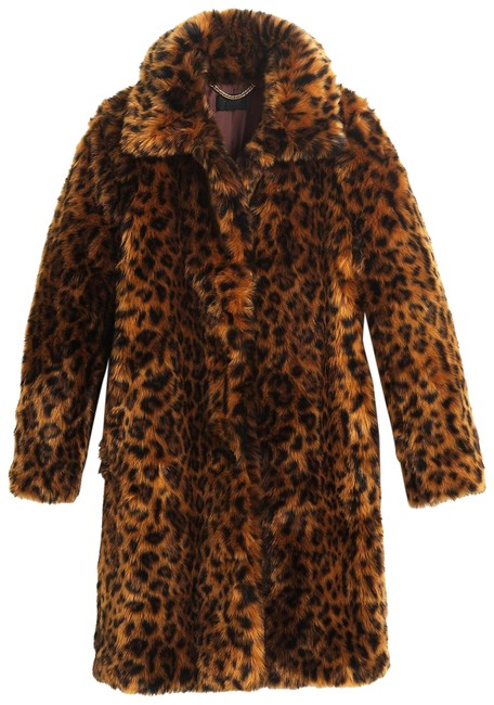 Item - Leopard New Faux-fur Small G9553 Coat Size 4 (S)