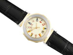 Corum CorumAdmiral's Cup Ladies Nautical Watch - Solid 18K Gold & Stainless