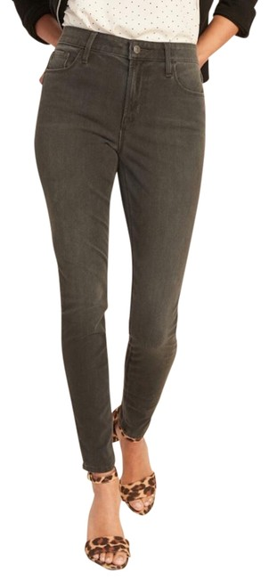 Item - Gray New High Waisted 24/7 Sculpt Rockstar Skinny Jeans Size Petite 2 (XS)