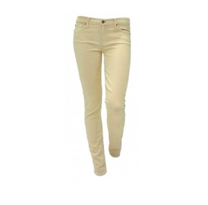7 For All Mankind Ankle Cropped Denim Skinny Jeans-Light Wash