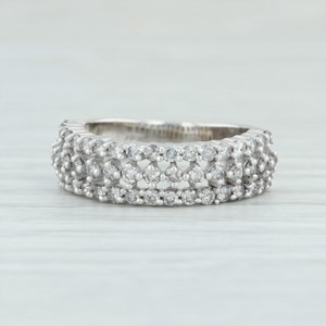 White Gold 1ctw Diamond Anniversary Band - 14k Size 5.75-6 Stackable Ring