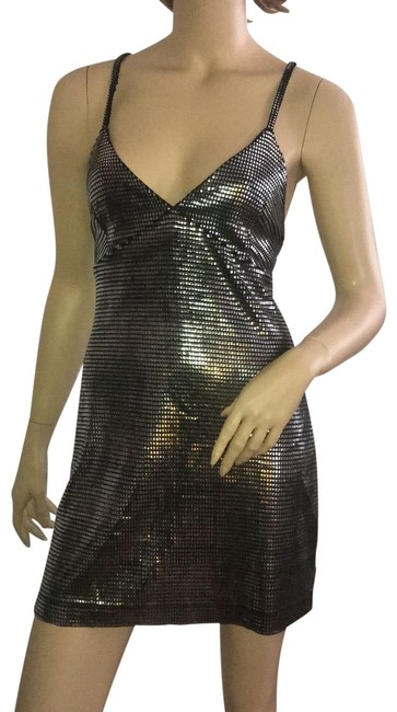 Item - Mesh Short Night Out Dress Size 4 (S)