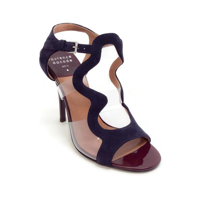 Item - Oxblood Patent / Navy Suede Toma Sandals Size EU 36.5 (Approx. US 6.5) Regular (M, B)