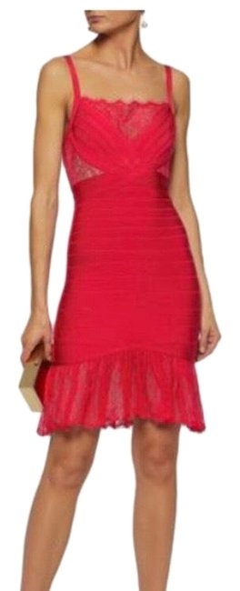 Preload https://img-static.tradesy.com/item/26366836/herve-leger-red-addison-lace-mid-length-cocktail-dress-size-8-m-0-4-650-650.jpg