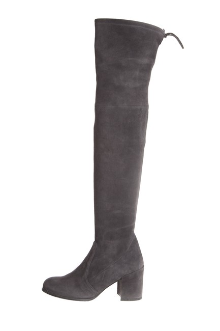 Item - Gray Suede Over The Knee Boots/Booties Size US 6.5 Regular (M, B)