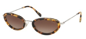 Miu Miu Vintage Tortoise New Condition Cat Ey SMU 58U Free 3 Day Shipping