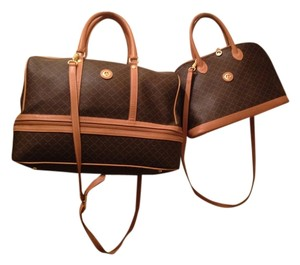 Leather Travel Classic Brown & Tan Travel Bag