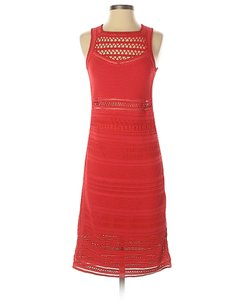 Ohne Titel Knit Crochet Lace Sleeveless Cut-out Dress