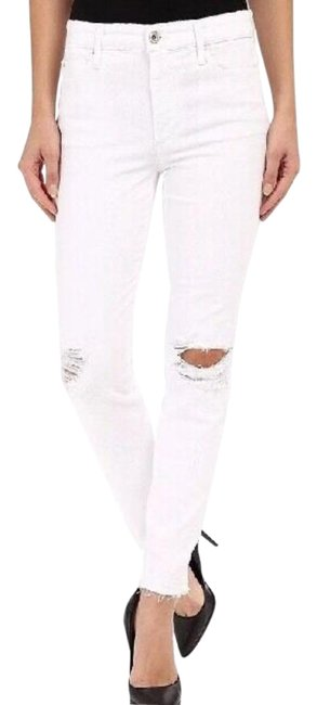 Item - White Charlie Icon Ankle In Danika Skinny Jeans Size 24 (0, XS)