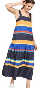 blue multicolor Maxi Dress by Chinti and Parker