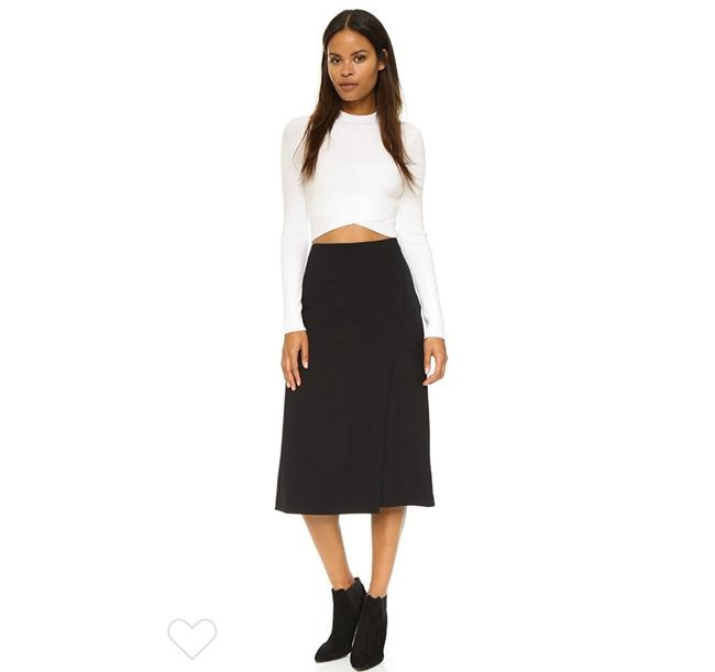 Item - Black 'faded Anneal' Skirt Size 6 (S, 28)
