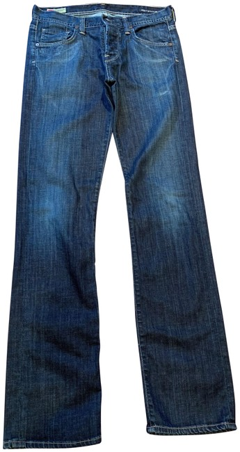 Item - Blue Denim Dark Rinse Sid Straight Leg Jeans Size 30 (6, M)