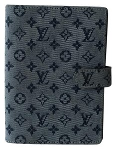Louis Vuitton Louis Vuitton Mini Lin Denim/ Canvas PM Agenda/Planner/Organizer