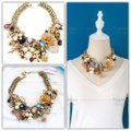 Betsey Johnson Betsey Johnson Lucky Charms Statement Bib Necklace