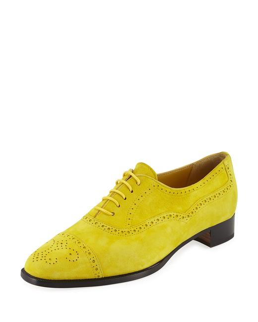 Item - Canary Suede Bath Formal Shoes Size EU 37 (Approx. US 7) Narrow (Aa, N)