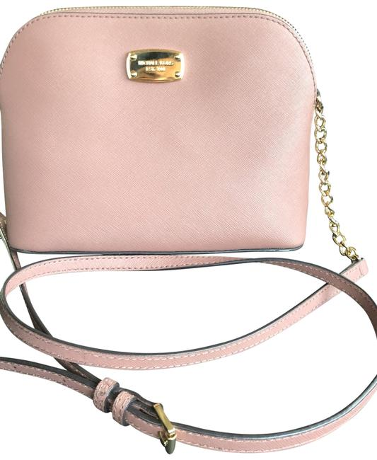 Item - Cold Chain Pink Leather Cross Body Bag