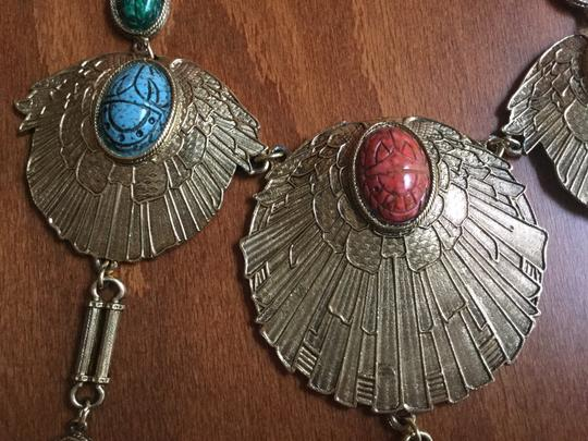 Accessocraft Vintage Accessocraft NYC Egyptian Scarab Necklace Image 4