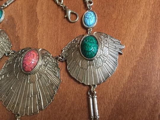 Accessocraft Vintage Accessocraft NYC Egyptian Scarab Necklace Image 5