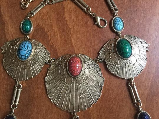 Accessocraft Vintage Accessocraft NYC Egyptian Scarab Necklace Image 6