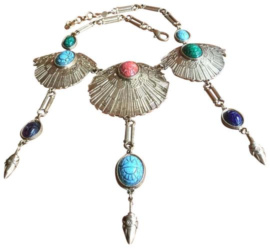 Preload https://img-static.tradesy.com/item/26372216/multicolor-vintage-nyc-egyptian-scarab-necklace-0-4-540-540.jpg