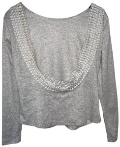 Francesca's Open Back Detail Casual Cover Up Winter Sweater