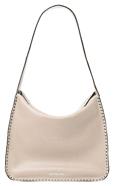 Item - Astor Large Cement Gray Leather Hobo Bag
