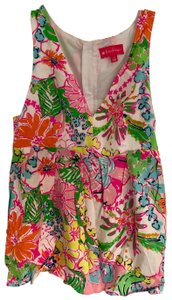 Lilly Pulitzer for Target Top Floral multi-colored