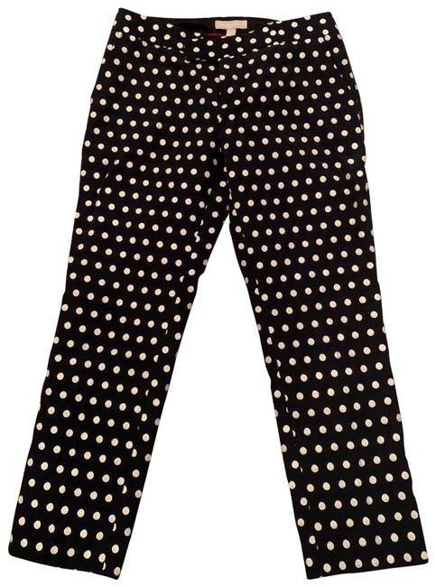 Item - Black White Pants Size 4 (S, 27)