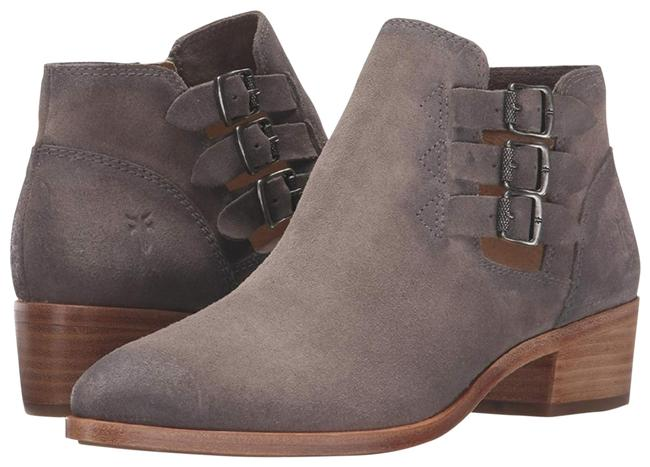 Item - Taupe Gray Leather Boots/Booties Size US 11 Regular (M, B)