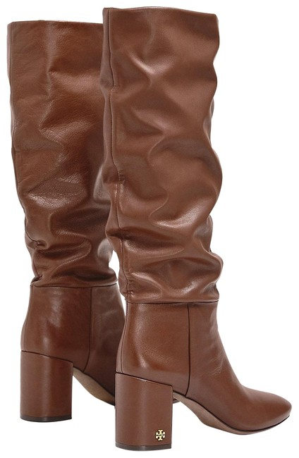 Item - Brown Slouchy Knee-high Boots/Booties Size US 8 Regular (M, B)