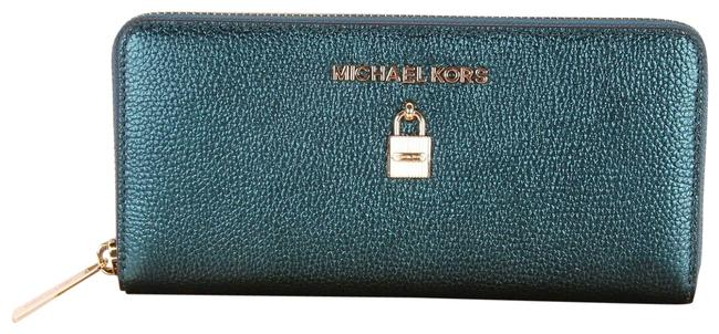 Item - Green Adele Zip Around Continental Bag Boxed Wallet