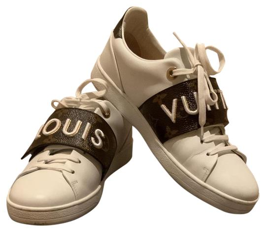 Preload https://img-static.tradesy.com/item/26374759/louis-vuitton-white-frontrow-sneakers-size-us-8-regular-m-b-0-2-540-540.jpg