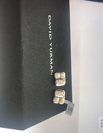 David Yurman David Yurman Confetti Diamond Stud Earrings NWT Image 3