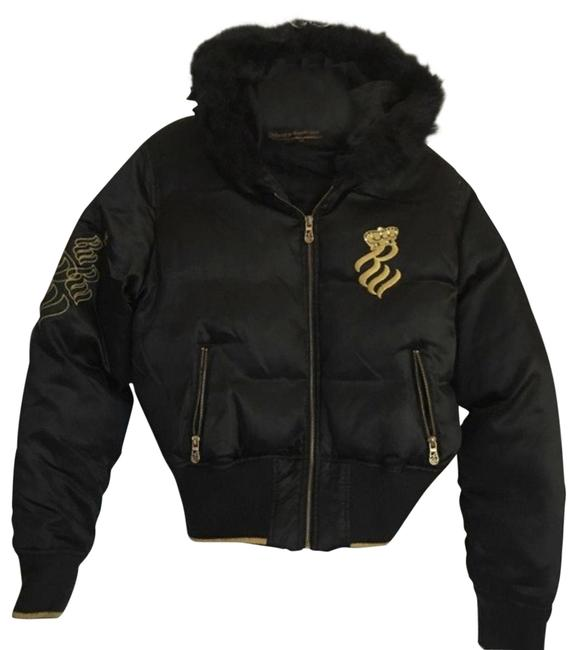 Preload https://img-static.tradesy.com/item/26374772/rocawear-black-and-gold-great-condition-jacket-size-12-l-0-2-650-650.jpg