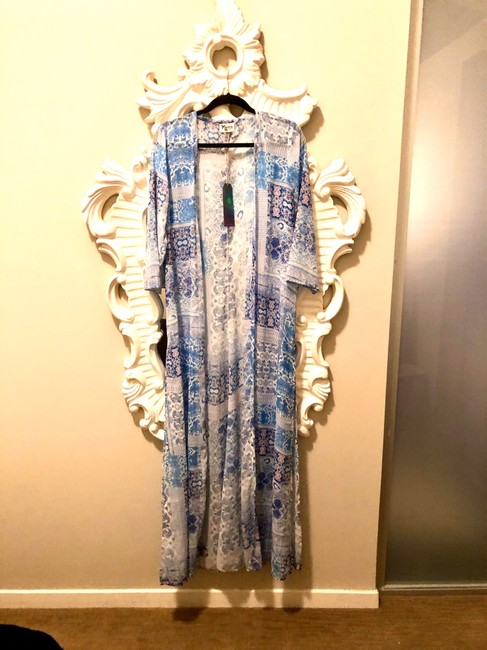 Show Me Your Mumu short dress Blue and Pink on Tradesy Image 2