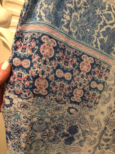 Show Me Your Mumu short dress Blue and Pink on Tradesy Image 3