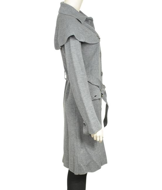 Burberry Wool Blend Trench Coat Image 1