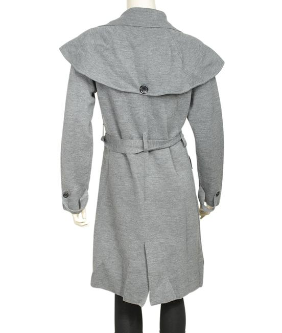 Burberry Wool Blend Trench Coat Image 2