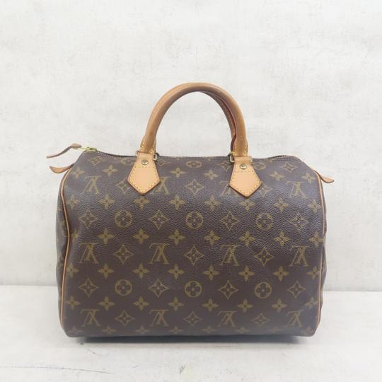 Louis Vuitton Speedy 30 Monogram Canvas Tote in Brown Image 2
