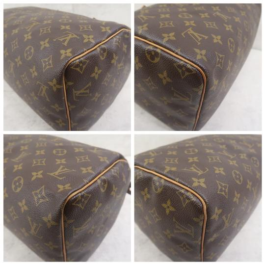 Louis Vuitton Speedy 30 Monogram Canvas Tote in Brown Image 4