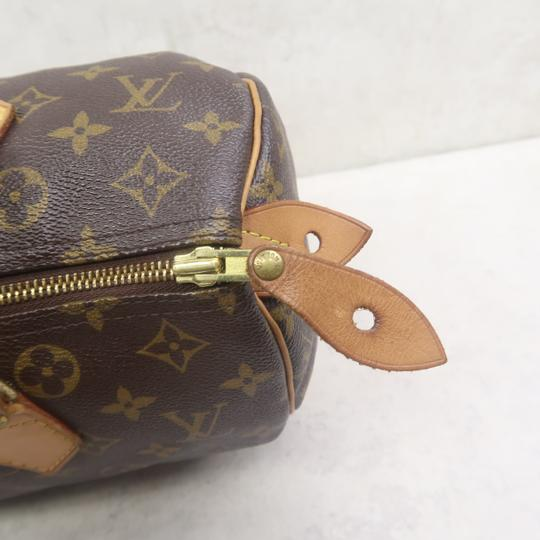 Louis Vuitton Speedy 30 Monogram Canvas Tote in Brown Image 6