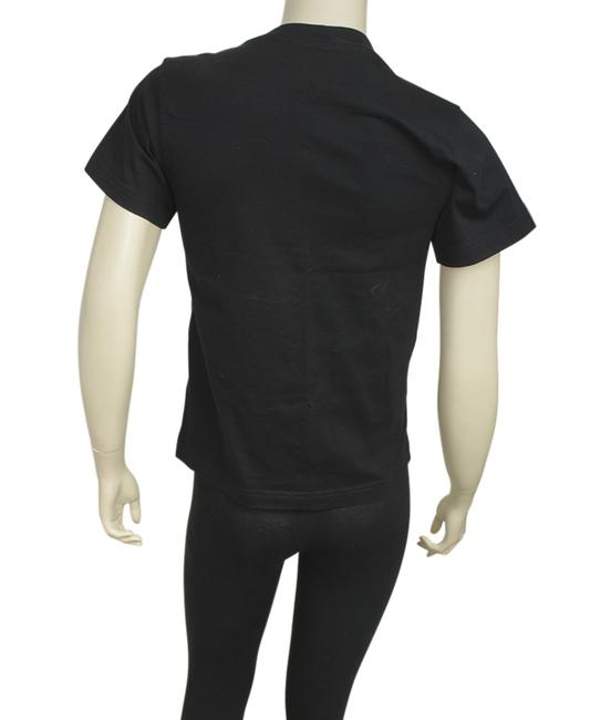 Balenciaga Cotton T Shirt Black Image 2