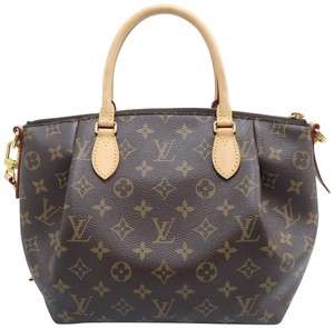Louis Vuitton Lv Turenne Pm Monogram Canvas Satchel in Brown