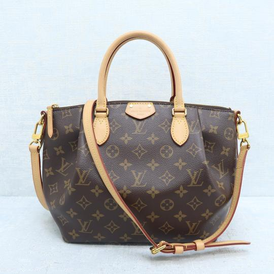 Louis Vuitton Lv Turenne Pm Monogram Canvas Satchel in Brown Image 2