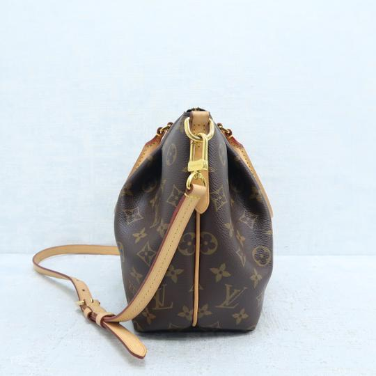 Louis Vuitton Lv Turenne Pm Monogram Canvas Satchel in Brown Image 3