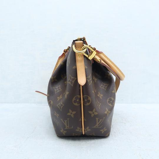 Louis Vuitton Lv Turenne Pm Monogram Canvas Satchel in Brown Image 4
